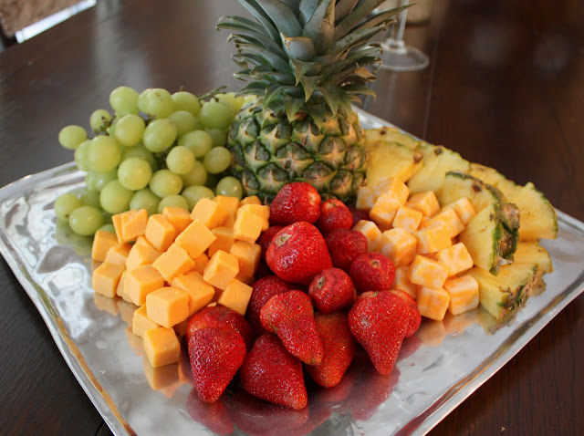 Cheese and Fruit Tray- Fruit Tray- Recipe