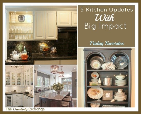Easy Kitchen Updates 5 easy kitchen updates with big impact {friday favorites}