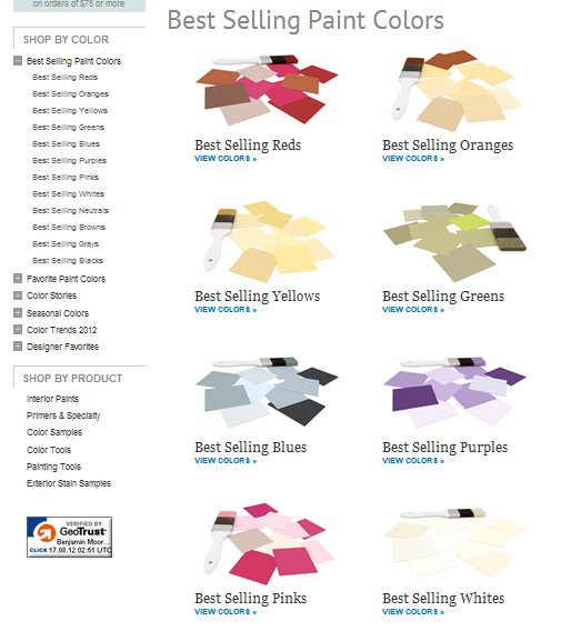 Benjamin Moore- Paint Color Inspiration- How to find paint colors