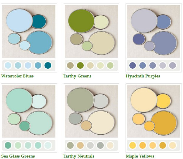 Online Resources For Paint Color Inspiration Friday