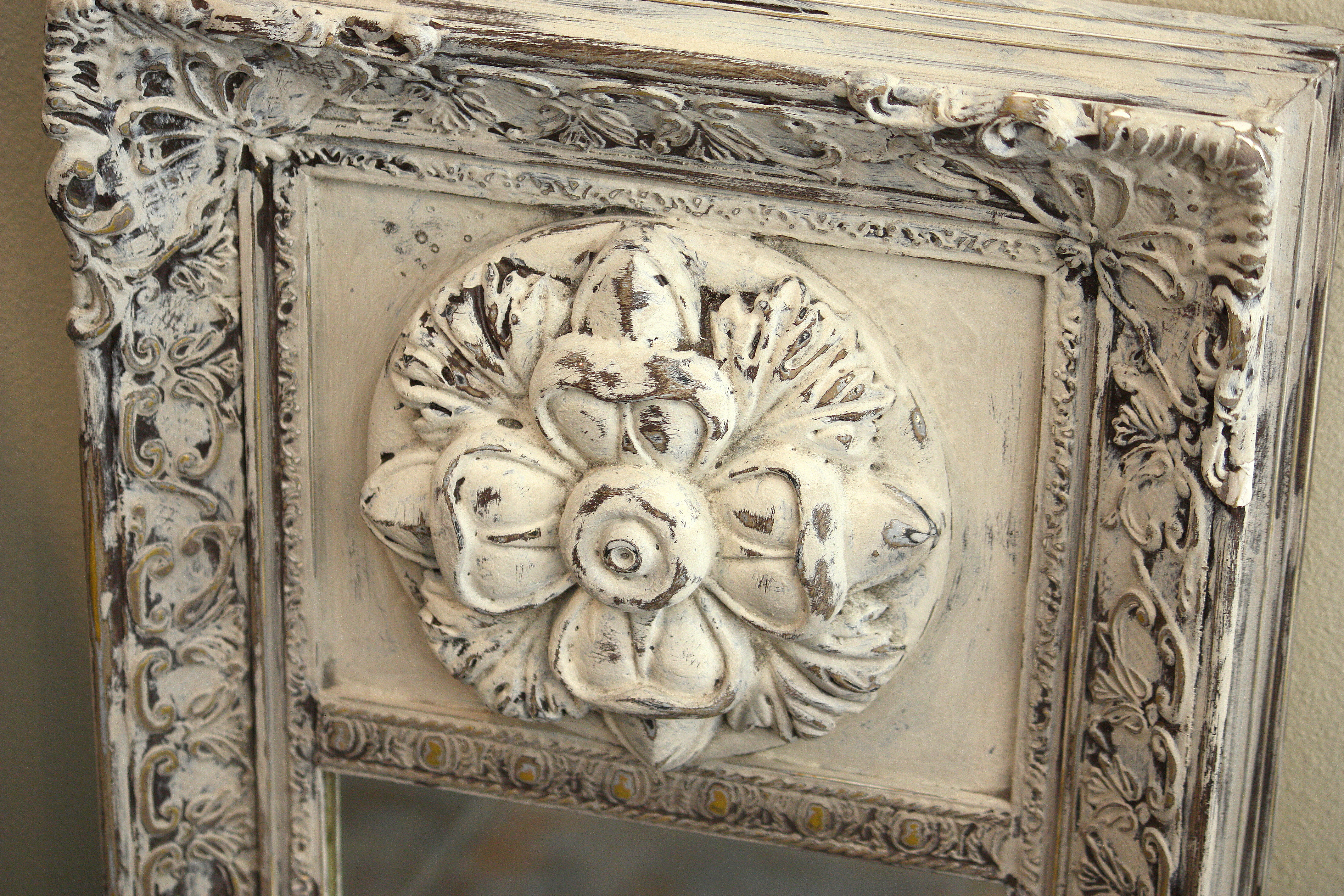 Diy Faux Plaster Paint Finish For Trash To Treasure