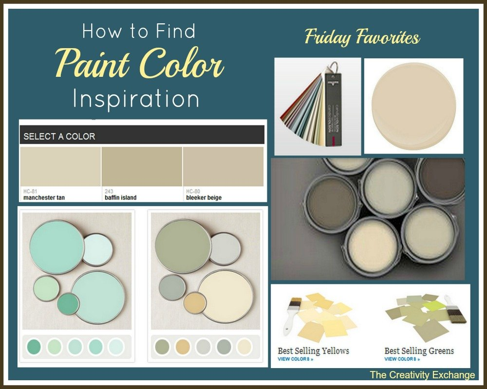 Online Resources For Paint Color Inspiration Friday Favorites
