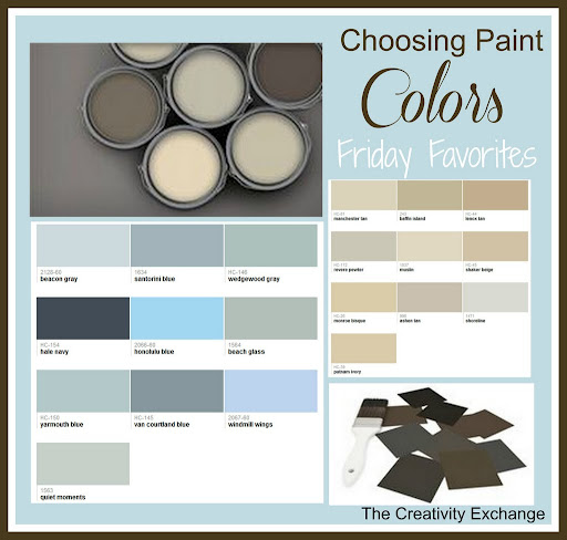 Online Resources for Paint Color Inspiration {Friday Favorites}…