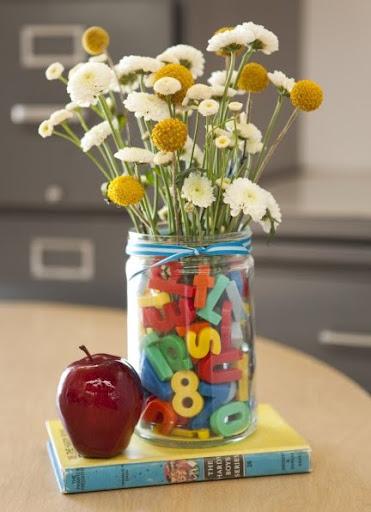 Flowers- Back to School- Gift for Teacher