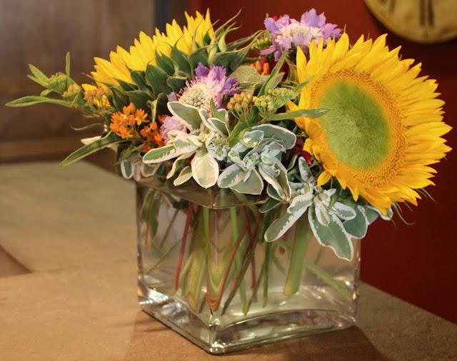 Fall flowers- arrangements-floral