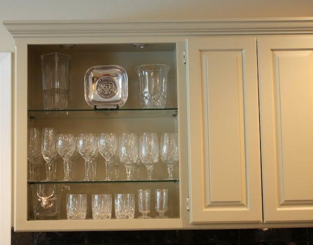 Crystal Cabinet- Kitchen- Updates