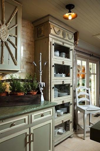 Kitchen- Updates- Bookshelf in Kitchen