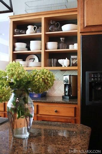 Open kitchen Cabinets- Kitchen Updates