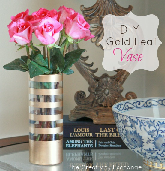 How to paint on glass- gold leaf- how to gold leaf glass