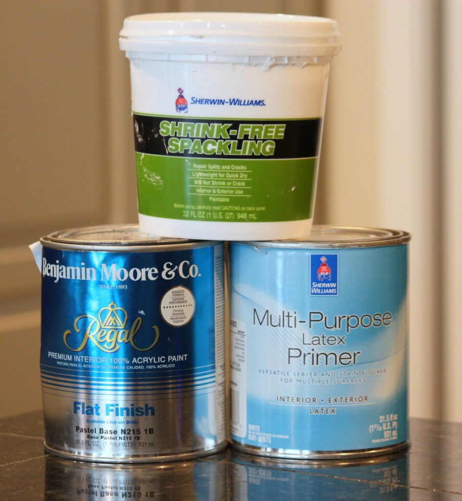 Recipe for chalk paint