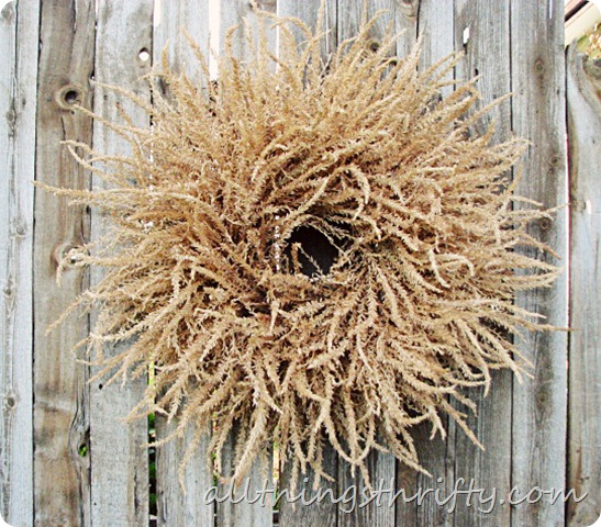 Fall Wreath- All Things Thrifty