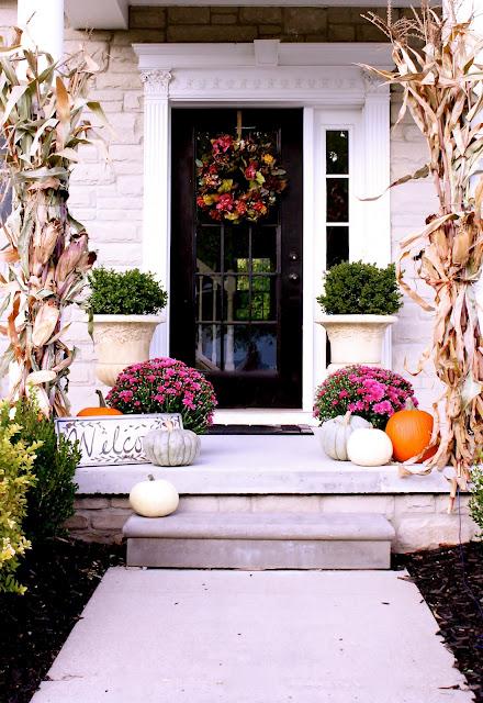 Fall in Blogland- Fall Decorating Inspiration
