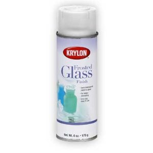 How to spray paint glass