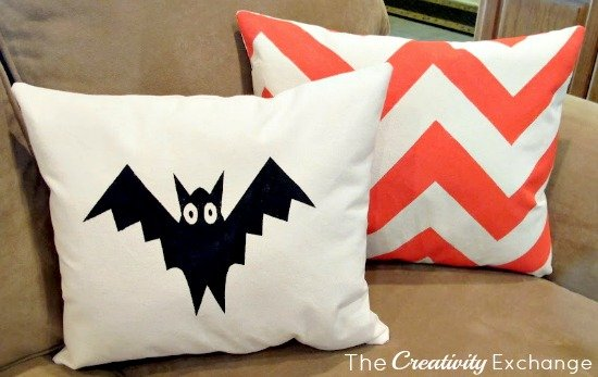 DIY-Pillows- Screen Print Paint