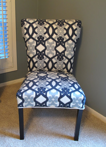 how to recover a parson 39 s style chair furniture revamp