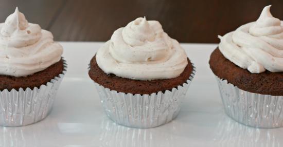 Fall Cupcakes- Recipe- Food- Cook- Coconut- Chocolate