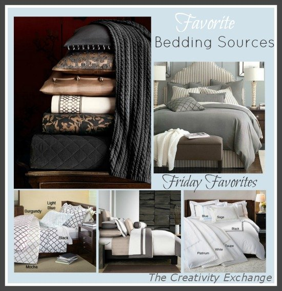 Sources for Bedding- Interior Design- Product Sources