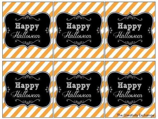 free printable halloween tags labels - Free Printables For Halloween