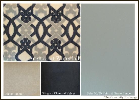 Interior Design- Bedroom Color Palette- Bedroom Fabrics