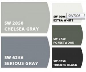 Interior Design- Paint Colors- Sherwin Williams