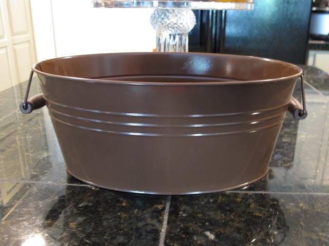metal bucket- Craft- DIY- Instructions