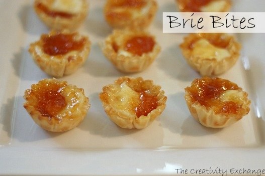 Recipe- brie- bites- appetizer- holiday- holiday appetizer- brie bites
