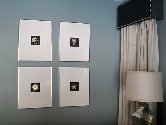 DIY Wall Art- Instructions- Gold Leaf- How