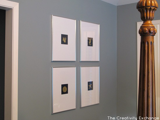 DIY Wall Art- Instructions- How to Gold Leaf on Paper- Craft-