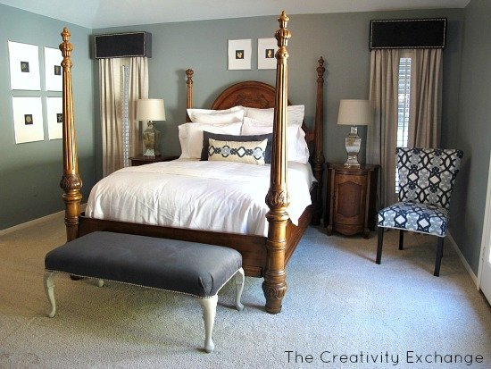 Master Bedroom Reveal {Room Revamp of the Month}…