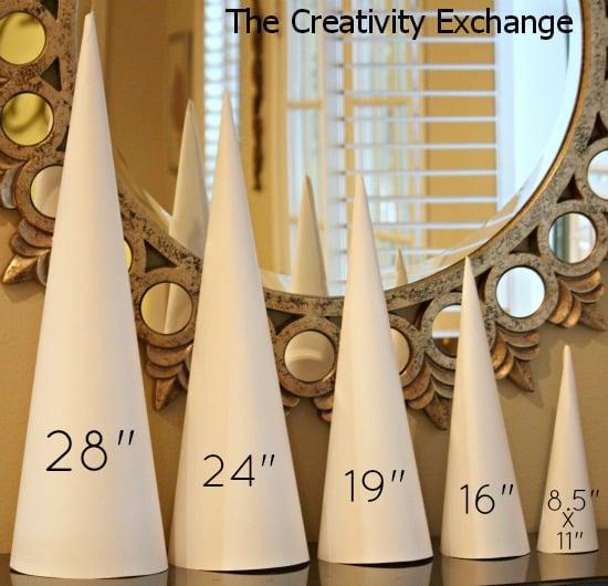 Craft Cone Templates- Buy- Craft