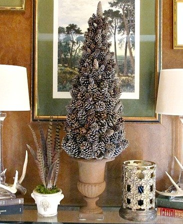 Tree Cone- Pattern- Template- Buy- How- DIY- Christmas- Craft- Pine Cone Tree Cone