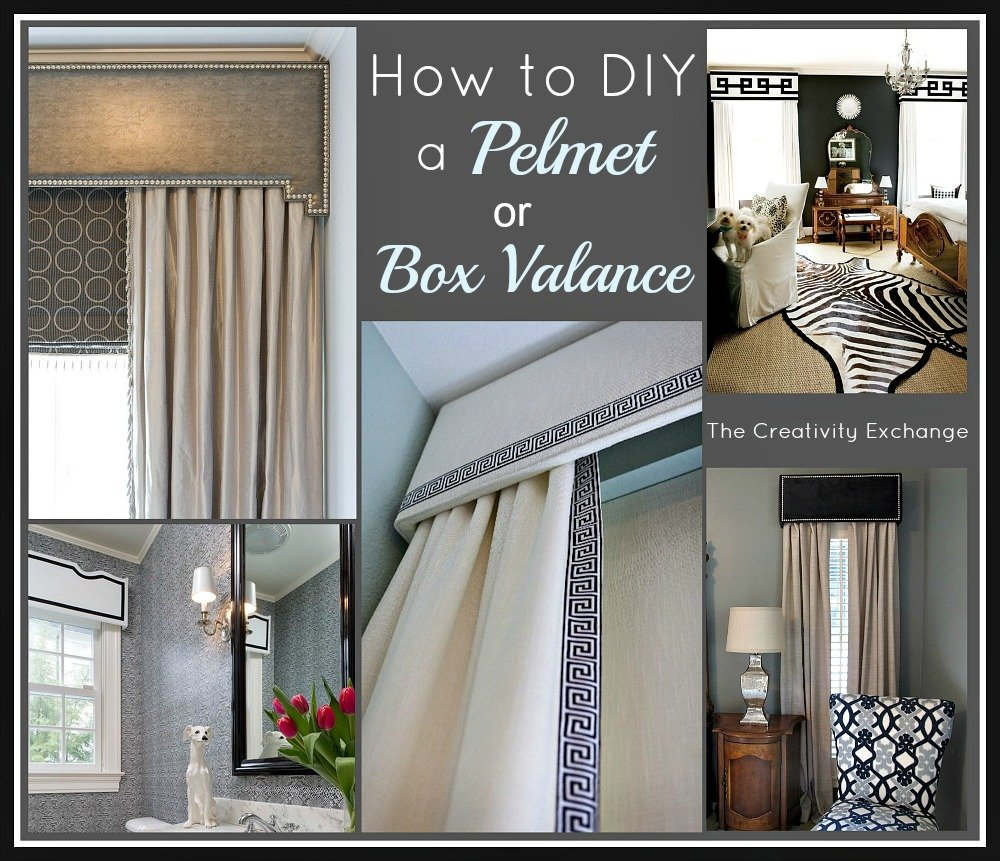 How To Diy A Pelmet Or Box Valance