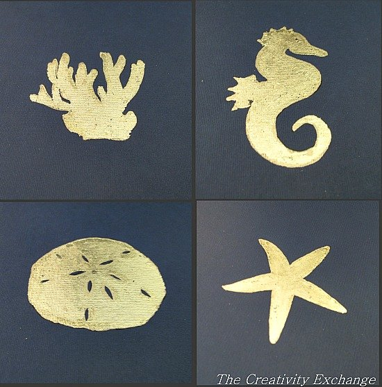 Epic How to Gold Leaf on Paper Instructions DIY Wall Art