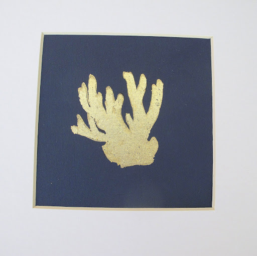 DIY Wall Art- How to Gold Leaf on Paper- Craft- Instructions