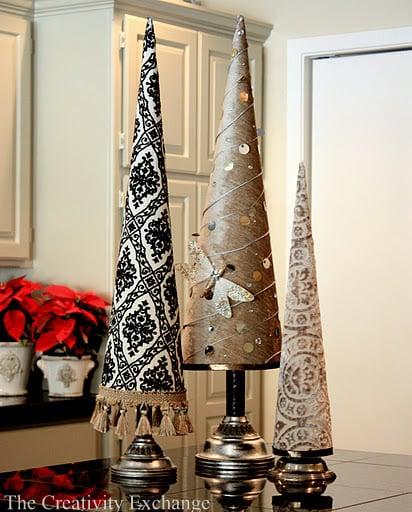 Tree Cones- Poster Board Tree Cones- How- Make- Buy- Templates- Cone Template