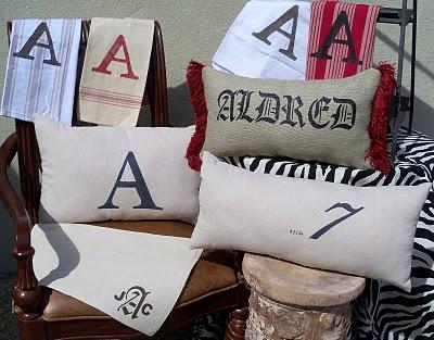 DIY Monogram- How to Monogram with fabric paint- Craft- Easy