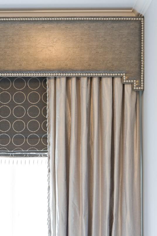 Pelmet- Upholstered Pelmet- Interior Design- Window Treatment