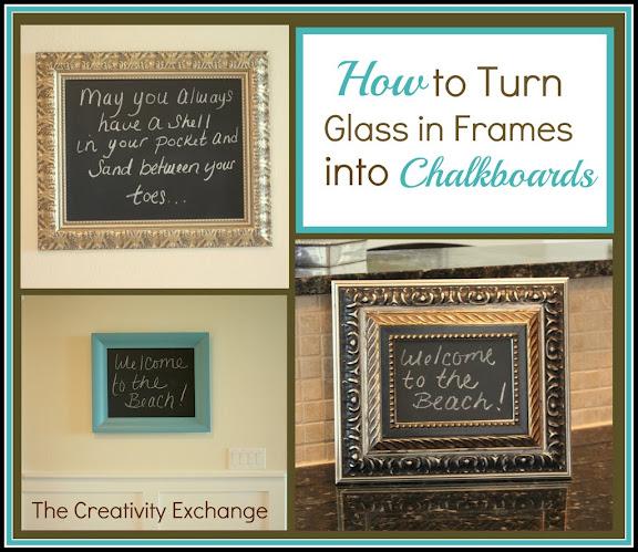 How to Make Chalkboards- DIY