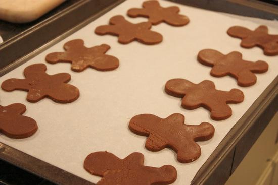 recipe, Gingerbread men, cookies, Christmas coookies