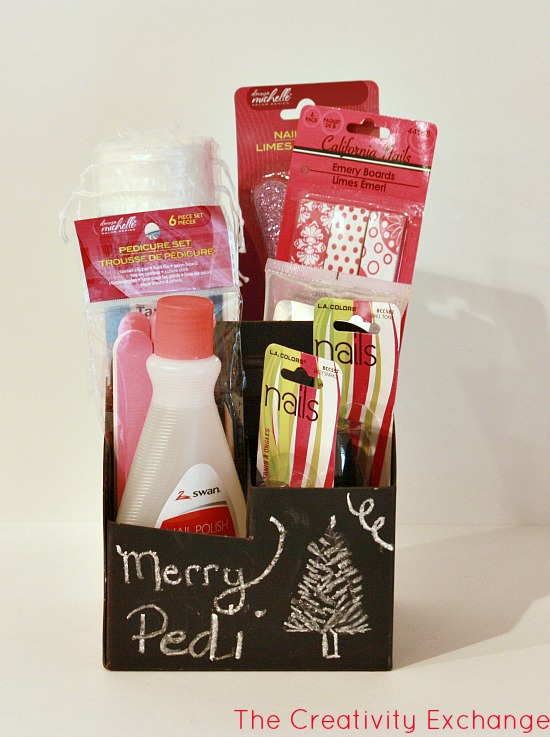 Christmas gift ides- handmade gifts- chalkboard caddy- ideas-craft