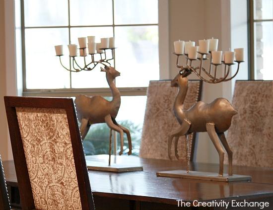 metal reindeer {The Creativity Exchange}