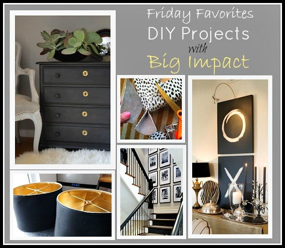 Favorite DIY Projects and Ideas with Big Impact {Friday Favorites} The Creativity Exchange
