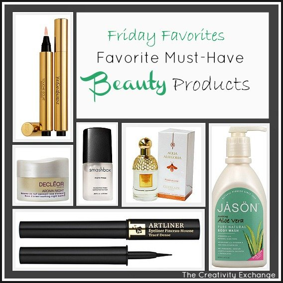 Favorite Must-Have Beauty Products {Friday Favorites} The Creativity Exchange