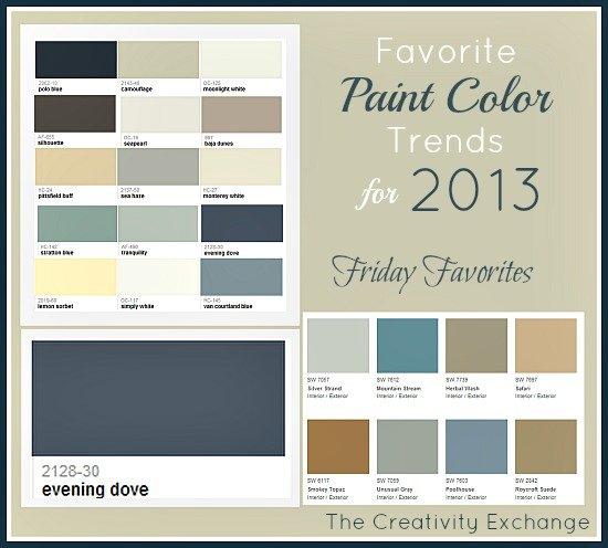 Paint Color Trends Impressive Of Favorite Paint Colors 2013 Image