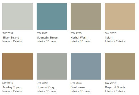 Sherwin Williams 2013 Paint Color Forecast
