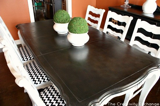 how to create a beautiful hand painted finish with spray paint