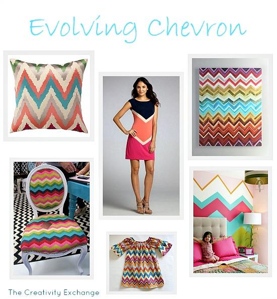 Inspiration Exchange... Evolving Chevron Pattern