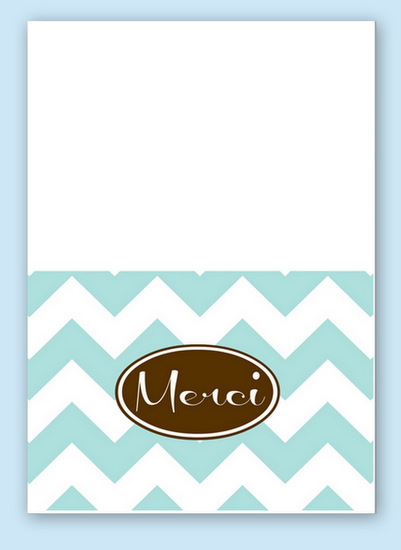 "Free Printable ""Merci"" Thank You Note Card {January Free Printable o the Month} The Creativity Exchange"