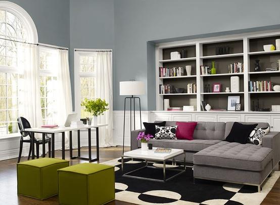 Images Rooms Painted In Van Courtland Blue