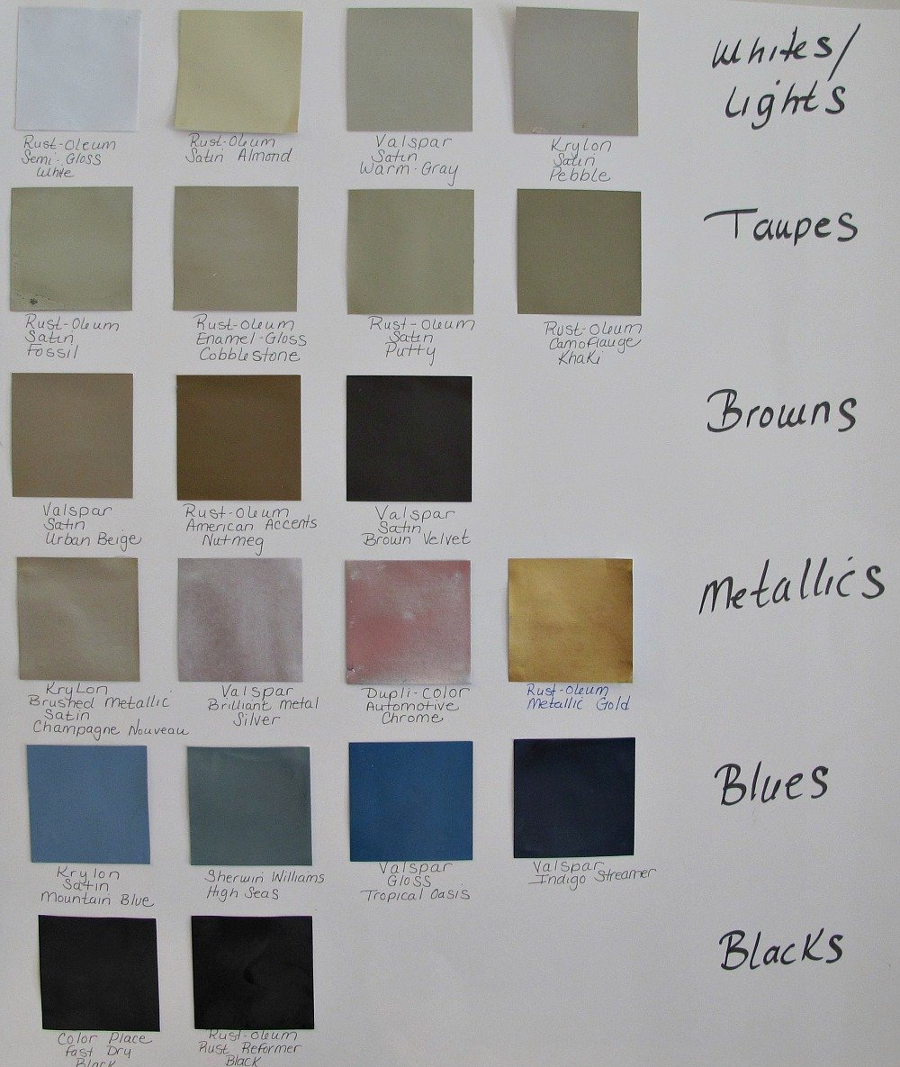 20 favorite spray paint colors friday favorites Great paint colors